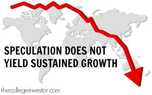 speculation does not yield sustained growth