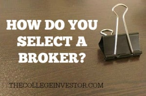 how do you select a broker