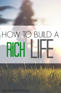 Do you want to build a rich life? If so, it takes more than just putting your money in the stock market. In fact, these are the four most important investments you can make.