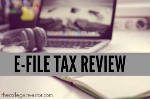Are you thinking of doing your taxes with E-File this year? Find out what we love and don't love so much in our E-File 2014 review.
