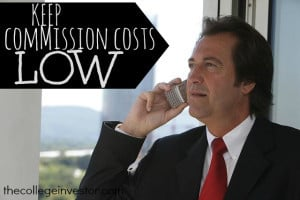 keep commission costs low