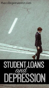 Are student loans a mental health issue? According to a recent study they could be and I wholeheartedly agree.