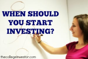 When Should You Start Investing