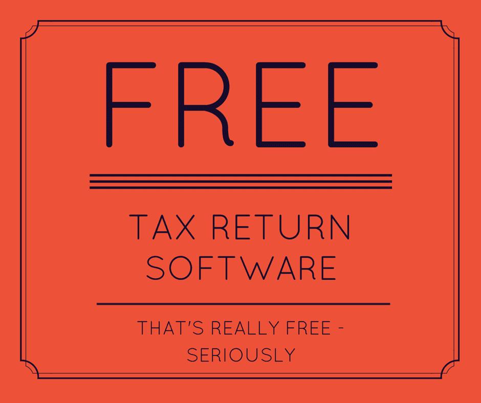 Free Tax Return Software