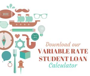 Variable Rate Student Loan Calculator