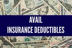 avail insurance deductibles