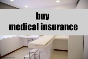 buy medical insurance