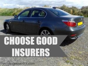 choose a good insurer