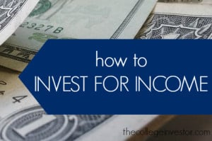 how to invest for income