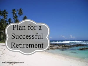 plan for a successful retirement