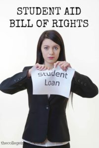 The student aid bill of rights changes are slated to take place in 2016. Do you think they'll help?