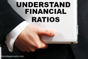 Familiarization with basic of financial ratios will enable you to understand the company better.