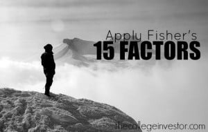 Fisher's 15 Factors