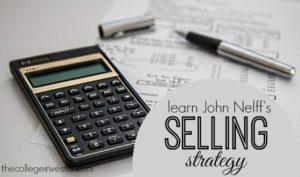 John Nelff's Selling Strategy