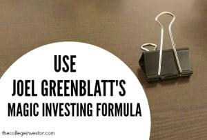 Joel Greenblatt's Magic Formula