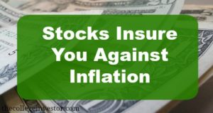stocks insure against inflation