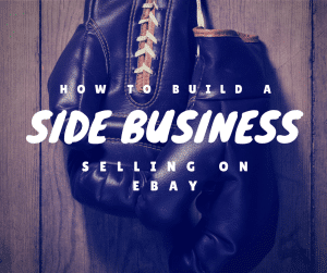 My very first side business was selling on eBay. I turned that in to a $5,000 per year business, and I'll show you how.