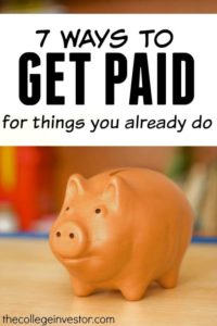 Wouldn't it be nice to get paid for doing nothing? If your answer was yes here are seven smart ways to earn money for things you already do.