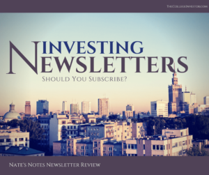 Investing Newsletters