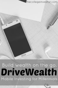 If you're looking for an easy way to get started investing, and want to do it from your mobile phone, you can. Learn more in our DriveWealth review.