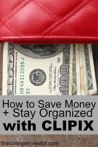 Clipix is an awesome (and free) way to save money and stay organized. See how we use it in our Clipix Review.