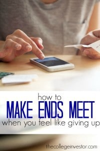 If you have more month than you do money it is possible to turn your situation around. Here's how to make ends meet even if you feel like giving up.