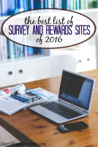 survey and rewards sites