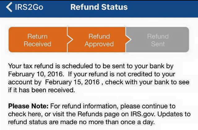 Refund 2 Dates