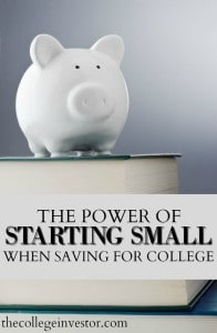 As a parent myself, I can vouch for the fact that one look at a college expense calculator and I'm ready to run for the hills and take my kids with me. When I sit down and really plan it out though, saving for college isn't scary and even relatively small amounts really make a difference.