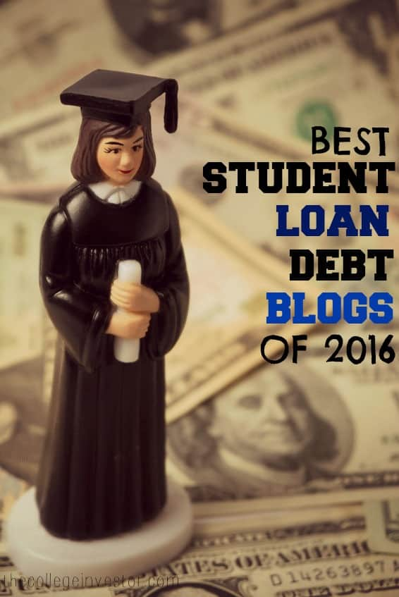 best student loan debt blogs of 2016