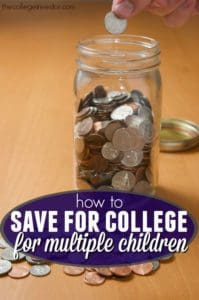 Feeling the pinch when it comes to saving for college? If so here are practical tips on how to save for college for multiple children.