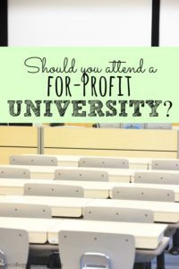 Should you attend a for-profit university? These schools have been given a lot of criticism lately and there's a good reason why.