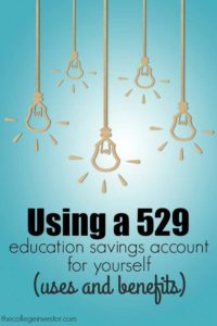 College is expensive. If you plan on furthering your education here's what you need to know about using a 529 for yourself.