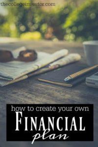 No matter your current situation you can create your own financial plan and reap the benefits. And no, you don't need to be a CFP to do so!