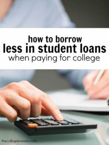 Want to set yourself up for financial success after college? Borrow less in student loans. Here's how to do it.
