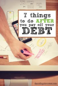 Debt freedom isn't the end of your personal finance journey! Here are seven things to do after you pay off your debt.