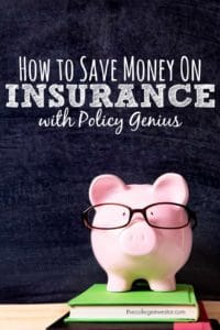If you don't know whether you have the right insurance products, I recommend Policy Genius as an independent insurance broker. Here's why.