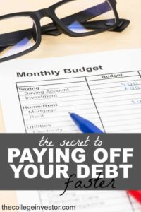 Paying down your debt is possible! There are two main strategies that will help you accelerate your debt pay-off.