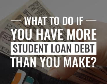 More student loan debt than you make