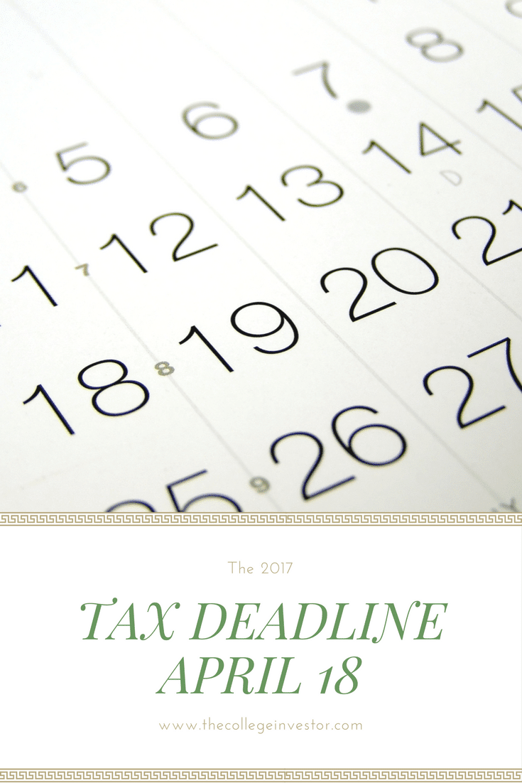 Tax Deadline This Year