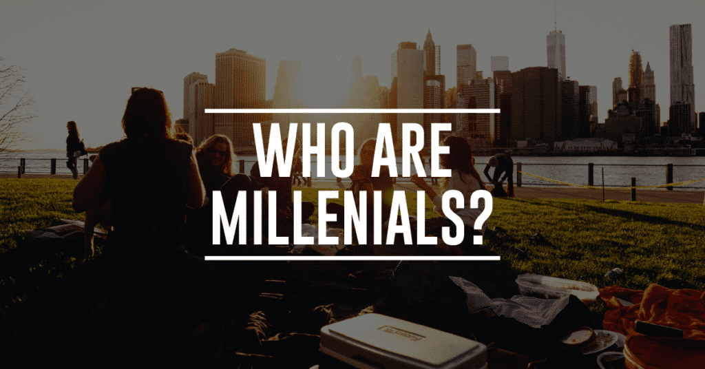 what is the millennial age range and what does that mean financially